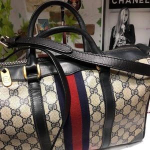 Gucci Vintage Boston with Strap